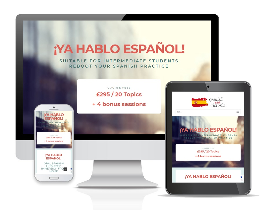 8 week intensive Spanish course
